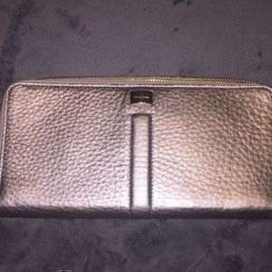Cole Haan Platinum Clutch.